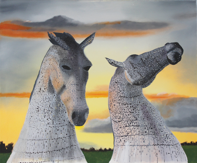 Kelpies by Peter Stewart