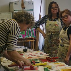 Downs Syndrome art workshop