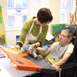 Sarah Bentley, volunteer at Project Ability