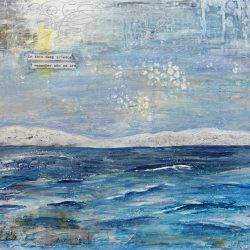 painting of the sea by Aileen Paterson