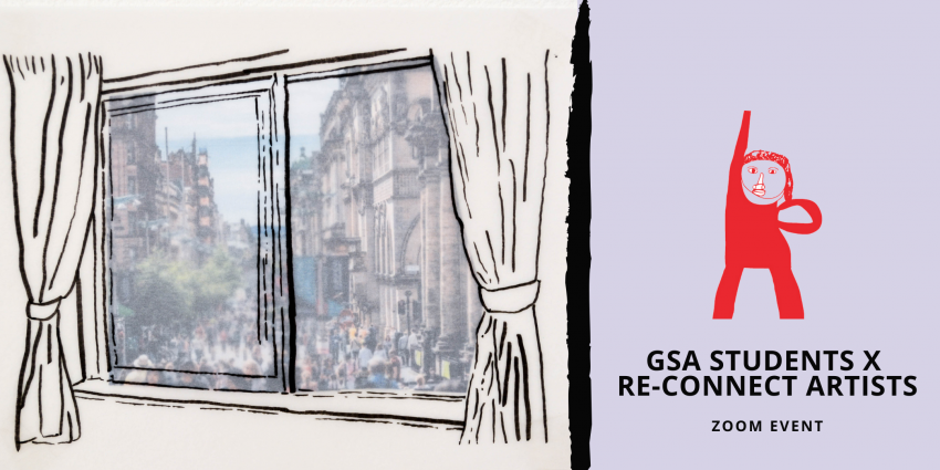 Artist Talk: GSA x Re-Connect @ Zoom
