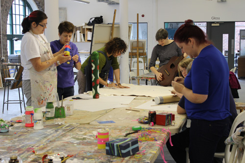 Friends and Family Fun Workshops – Instrument Making
