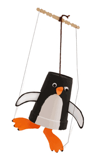 Friends and Family Fun Workshops – Puppet Making
