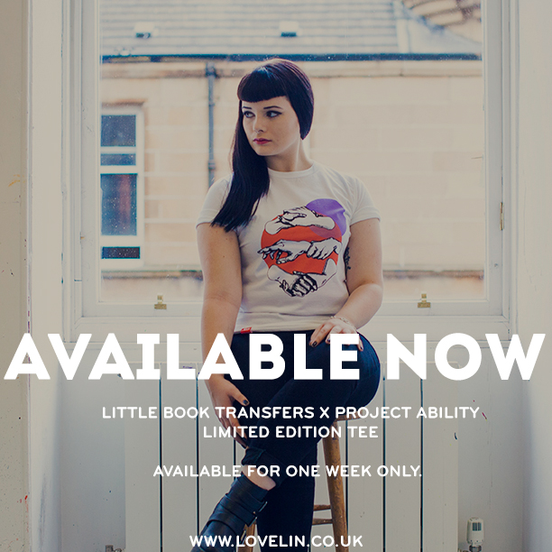 Little Book Transfers t-shirt is now on sale
