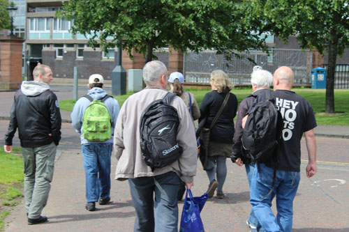 Paths for All funds the Project Ability Walking Group