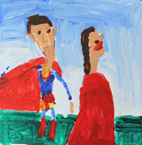 Superman and Friend